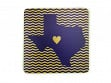 State with Heart Coasters - Texas - Case of 6