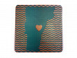 State with Heart Coasters - Vermont - Case of 6