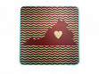 State with Heart Coasters - Virginia - Case of 6