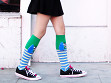 Knee High Character Socks - Sample