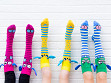 Knee High Character Socks - Case of 6