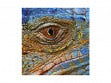Small Wooden Jigsaw Puzzle - Blue Iguana