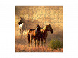 Small Wooden Jigsaw Puzzle - Peaceful Gathering