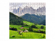 Large Wooden Jigsaw Puzzle - Funes Valley
