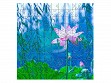 Wooden Jigsaw Puzzle - Small - Waterlily