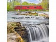 Teaser Wooden Jigsaw Puzzle - Red Covered Bridge