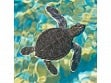Teaser Wooden Jigsaw Puzzle - Mosaic Sea Turtle