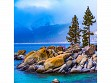 Teaser Wooden Jigsaw Puzzle - Lake Tahoe Winter