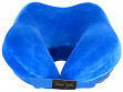 Structured Neck Support Pillow - Blue - Sample