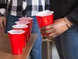 Hexagonal Beer Pong Game - Sample