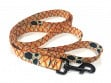 Fish Skin Print Dog Leash - Redfish