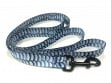 Fish Skin Print Dog Leash - Bonefish