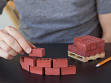 1:6 Scale Miniature Red Bricks on Pallet - Case of 20