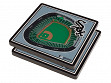 3D Stadium Coaster Set MLB Chicago White Sox Guaranteed Rate Field