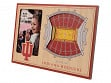 3D Stadium Picture Frame NCAA Indiana Hoosiers Assembly Hall