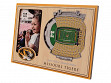 3D Stadium Picture Frame NCAA Missouri Tigers Faurot Field at Memorial Stadium
