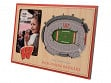 3D Stadium Picture Frame NCAA Wisconsin Badgers Camp Randall Stadium