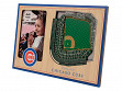 3D Stadium Picture Frame MLB Chicago Cubs Wrigley Field
