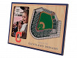 3D Stadium Picture Frame MLB Cleveland Indians Progressive Field