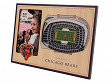 3D Stadium Picture Frame NFL Chicago Bears Soldier Field