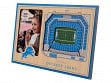3D Stadium Picture Frame NFL Detroit Lions Ford Field
