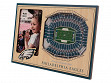 3D Stadium Picture Frame NFL Philadelphia Eagles Lincoln Financial Field