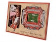 3D Stadium Picture Frame NFL Tampa Bay Buccaneers Raymond James Stadium