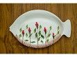 Fish Plate - Small - Flower