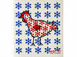 Winter Chicken Sponge Cloth