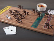 Wooden Tabletop Horseracing Game - Case of 6