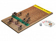 Wooden Tabletop Horseracing Game - Walnut - Case of 6