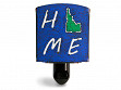 Reclaimed Metal Home State Night Light - Idaho - Blue & Green