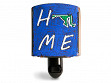 Reclaimed Metal Home State Night Light - Maryland - Blue & Green