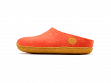Wool Felt Slippers - Mountain Coral - 5