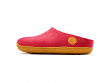 Wool Felt Slippers - Tikka Red - 5