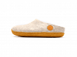 Wool Felt Slippers - Yeti White - 5