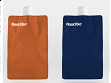 Flask2Go - Orange/Blue - Case of 10