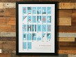 Alpinist's Alphabet Screen Printed Poster - Case of 10