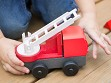 EcoTruck Red Fire Truck - Case of 6