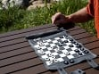 Roll-Up Travel Chess / Checkers - Sample