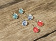 Authentic Stamp Earrings - Assorted - Case of 10
