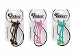 Acrylic Ponytail Holders with Cardboard POP Display - Case of 36