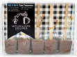 Salted Caramel and Belgian Milk Tasting Pack - Service for 5 - Case of 4
