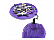Solid Color Makeup Case - Purple