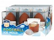 Sports Ball Silicone Ice Molds - Football Free Display - Case of 12