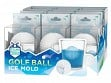 Sports Ball Silicone Ice Molds - Golf Ball Free Display - Case of 12