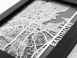Stainless Steel Table Maps - Baltimore