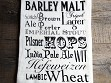 Word Art Kitchen Towel - Beer