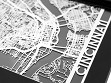 Stainless Steel City Maps (5 x 7) - Cincinnati