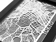 Stainless Steel City Maps (5 x 7) - Tokyo